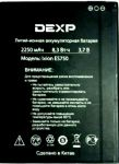 Dexp (Ixion ES750) 2250mAh Li-ion, оригинал