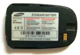 Samsung BST5028BE, Аккумулятор Samsung X660 (BST5028BE) 800 mAh Li-ion, Акб Samsung X660 BST5028BE 800mAh