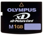 Карта памяти Olympus (xD-Picture Card M)-1Gb (оригинал)